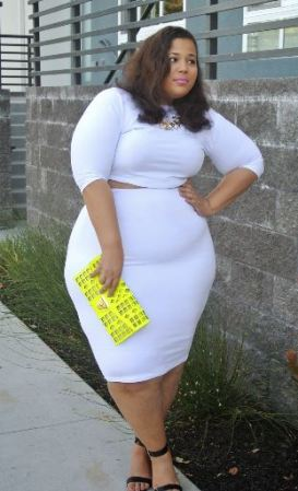 Chastity, a 30-something plus size blogger from Georgia currently living in California and is obsessed with fashion.